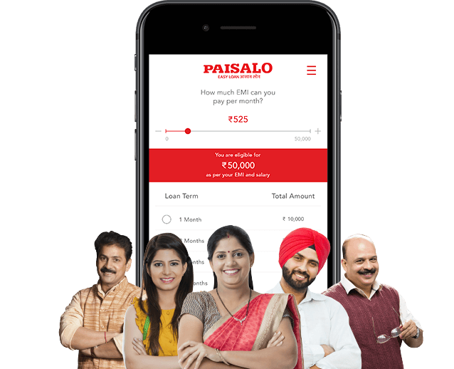 Apply for Quick and Easy Loans Online | Get Paisalo App